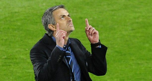 Jose Mourinho tuuletti estottomasti voittoa.