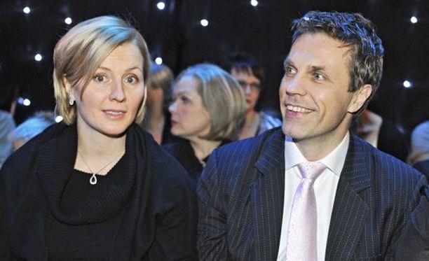 Virpi ja Jari Sarasvuo saivat toisen tyttölapsen.