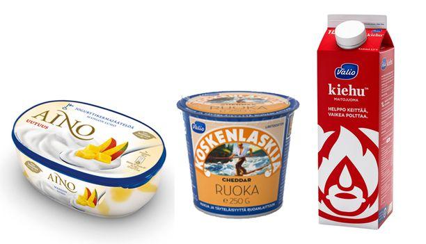 Vuoden Herkku 2015: Nestlen Aino Mangon lumo jogurttikermajäätelö, Arjen Helpottaja 2015: Valion Koskenlaskija Ruoka ja Vuoden Innovaatio 2015: Valion Kiehu maito.