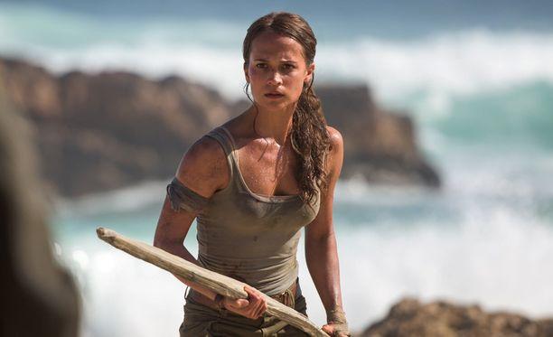 Alicia Vikanderin tähdittämä Tomb Raider -filmatisointi saa ensi-iltansa ensi vuonna.