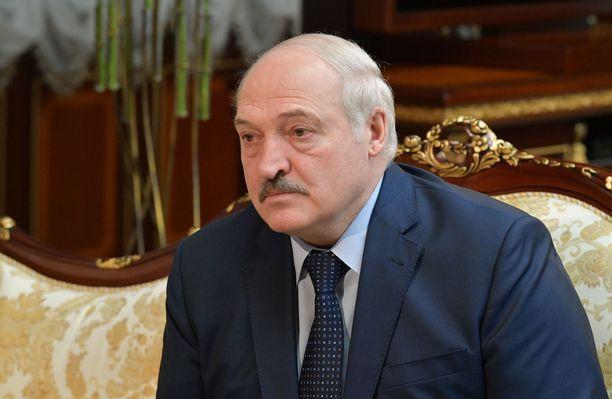Valko-Venäjän presidentti Aljaksandr Lukašenka.