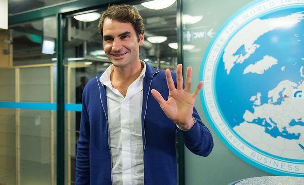 Roger Federer esiintyy tänä iltana Hartwall-areenassa Jarkko Niemisen The Final Night -tapahtumassa.