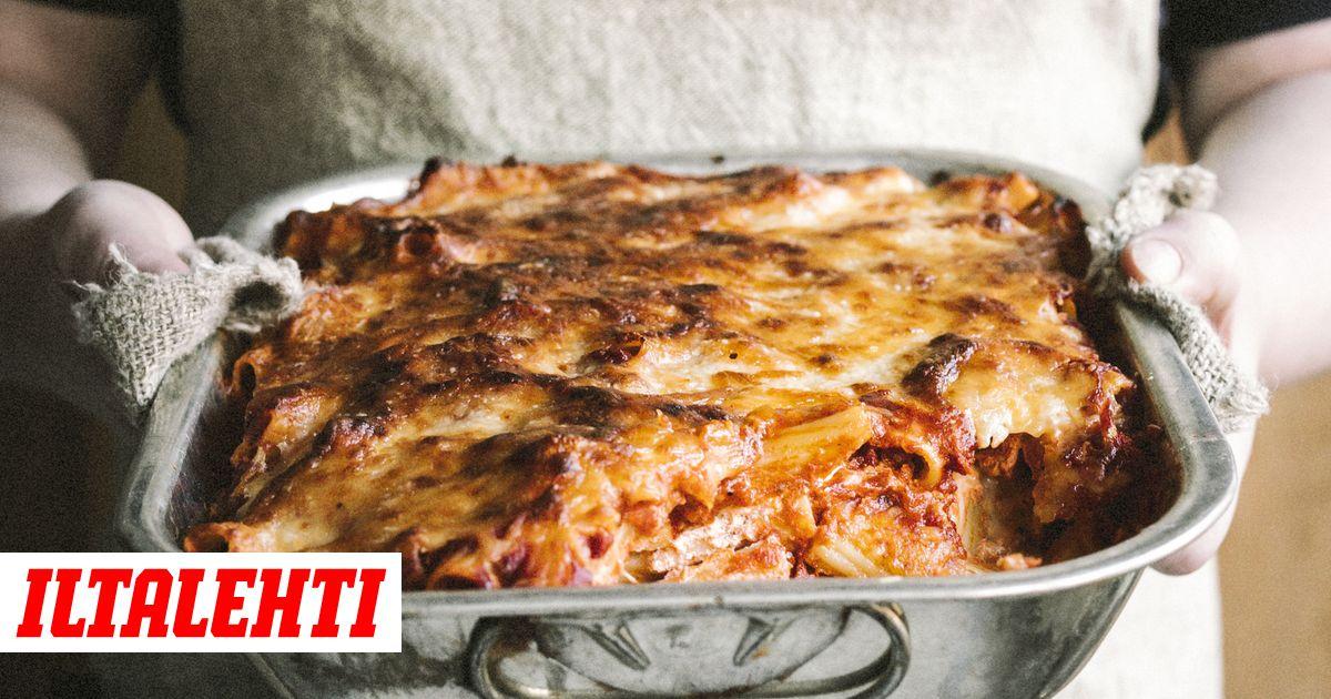 Paljon helpompi kuin lasagne, mutta silti aivan yhtä hyvä (ellei herkullisempi) lohturuoka