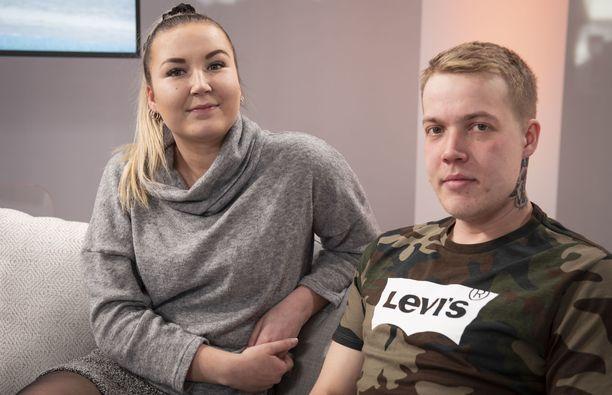 Jonna ja Janne vierailivat Iltalehden studiossa jututettavina viime keväänä.