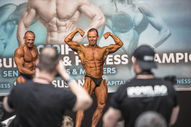 Voitto Suosaari poseerasi itselleen EM-hopeaa toukokuun alussa Espanjassa.