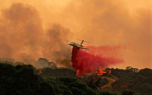 Mendocinon kompleksin paloja yritettiin taltuttaa lentokoneiden avulla 29. heinäkuuta. Silloin paloalue oli vielä noin 23 000 hehtaaria, nyt se on levinnyt 115 000 hehtaarin kokoiseksi.