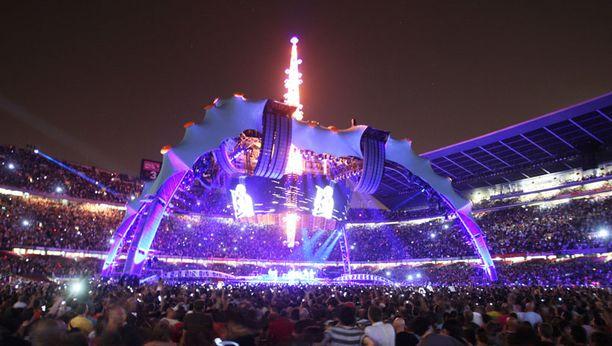 Tältä näyttänee myös Olympiastadionilla.