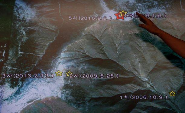 Punggye-rin testialueella syyskuussa tehty ydinkoe aiheutti maanjäristyksen, joka mitattiin naapurimaissa.