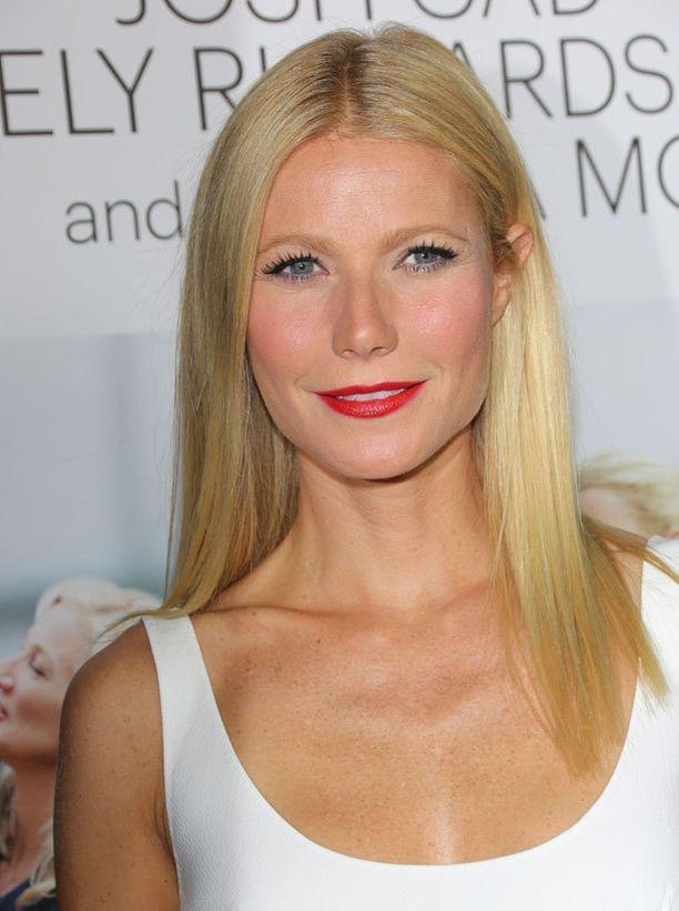 Gwynethin väitetään diivailevan kuntosalilla.