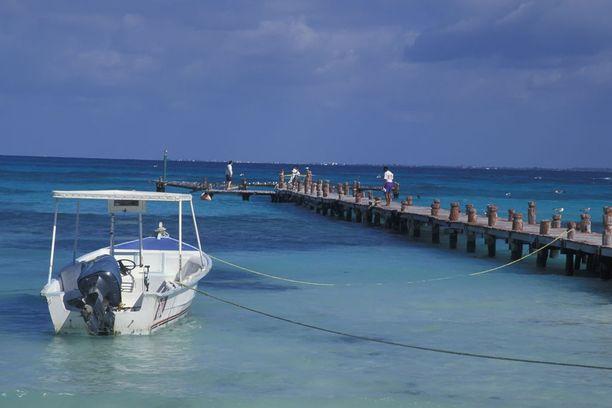 Cancún tunnetaan kauniista hiekkarannoista.