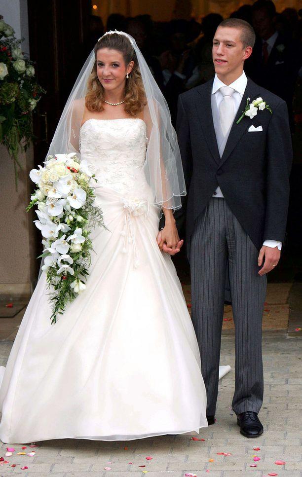 Tessy ja Louis menivät naimisiin 20-vuotiaina. Tuolloin he olivat jo seurustelleet kaksi vuotta.