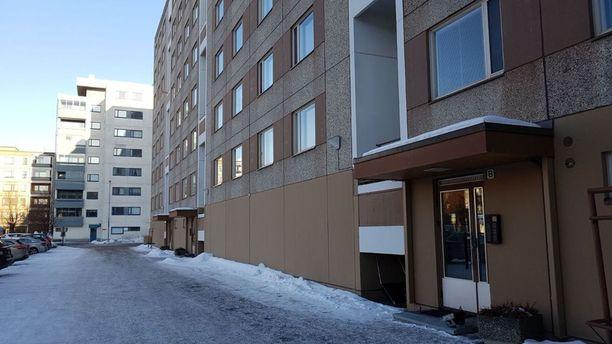 Taposta epäilty nuori mies asui kiinniottoaikaan Tammelan kaupunginosassa Tampereella.