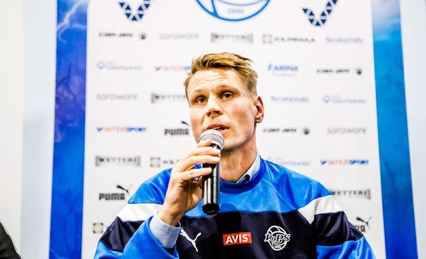 RoPS:n päävalmentaja Toni Koskela etenee voittoputkessa. Keskiviikkona kaatui FC Lahti 2-0.