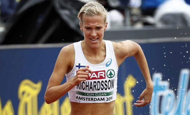 Camilla Richardsson nähdään Lontoon MM-kisoissa elokuussa.