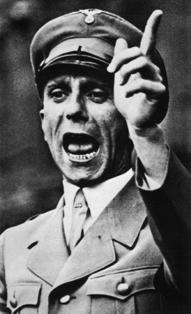 Propagandaministeri Joseph Goebbels vuonna 1940.