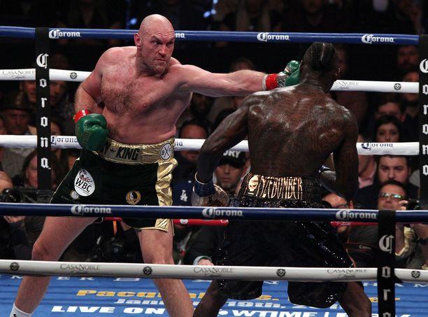 Tyson Fury antoi erittäin kovan vastuksen Deontay Wilderille toissaviikonloppuna otellussa WBC-liiton mestaruusottelussa.