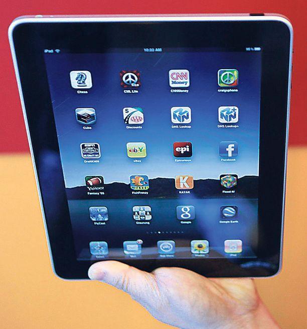 Vallankumouksellinen? iPadin uskotaan mullistavan digitaalisen median käytön.
