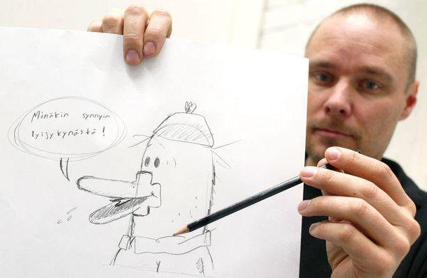 Mikko Kunnas on tuottelias animaatiotaiteilija ja kirjailija.