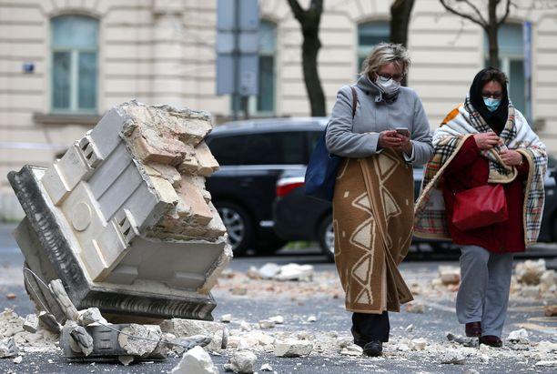 Zagrebia koettelee nyt sekä maanjäristys että koronavirus.