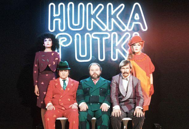Kristiina Halkola, Kari Franck, Jukka Sipilä, Erkki Saarela ja Leena Uotila keräsivät ruudun ääreen valtavasti katsojia.