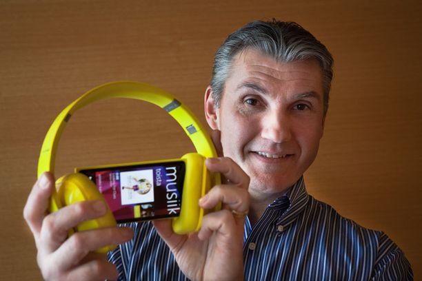 Nokia Musiikista vastaavan johtajan Mike Bebelin mukaan merkittävä osa käyttäjistä ei halua valita musiikkiaan itse.