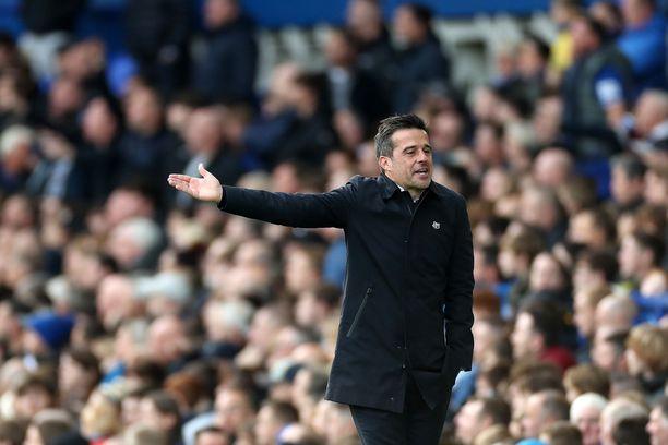 Marco Silvan Everton on ollut vaikeuksissa.