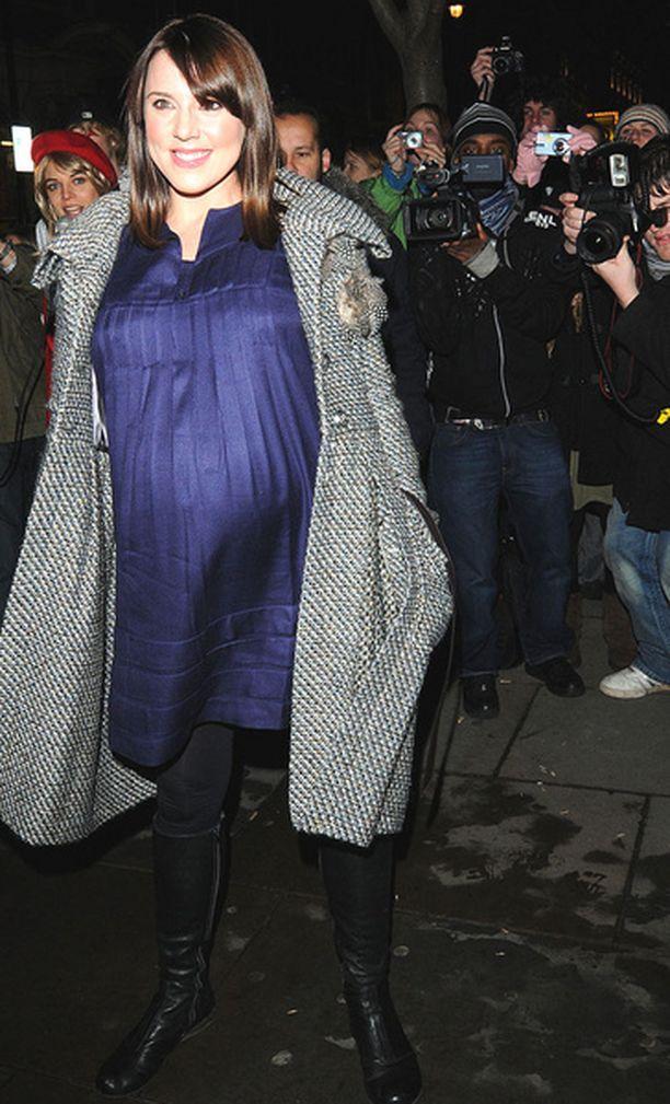 Melanie C esitteli vauvamahaansa joulukuussa 2008.