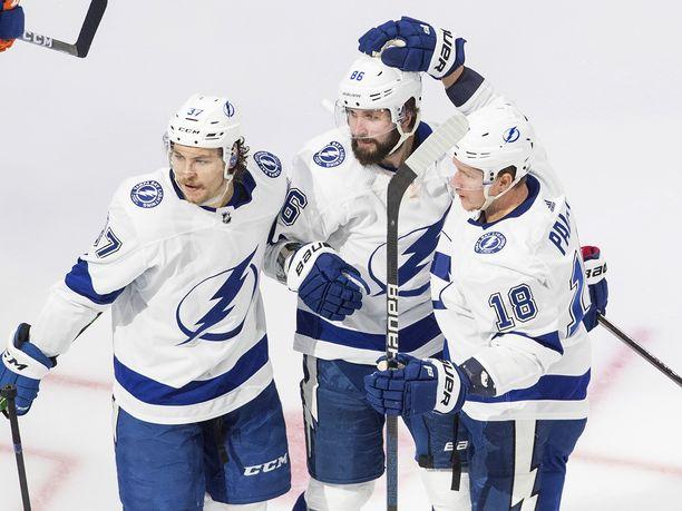 Tampa Bay Lightning on voiton päässä Stanley Cup -finaaleista.