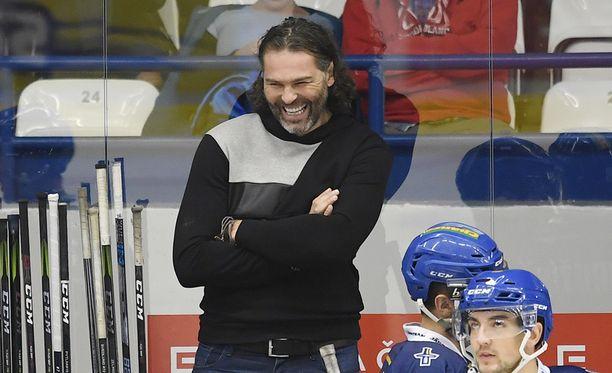 46-vuotias Jaromir Jagr aikoo pelata vielä tällä kaudella Kladnon riveissä.