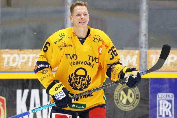 Puolustaja Jakub Krejcik voitti kahdella viime kaudella Brnossa Tshekin mestaruuden.