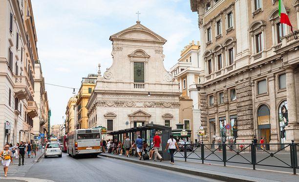Embla Jauhojärvi löydettiin harhailemasta Rooman kaduilta.