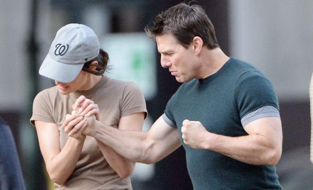 Tom Cruise on käynyt ahkerasti salilla.
