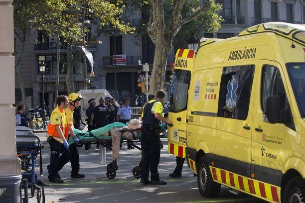 Uhrien on joukossa on vahvistettu olleen 18 eri maan kansalaisia.