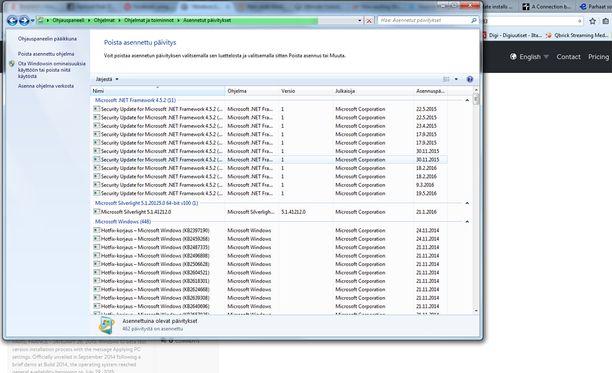 Get Windows 10 -sovelluksen voi poistaa etsimällä siihen liittyvän päivityksen.