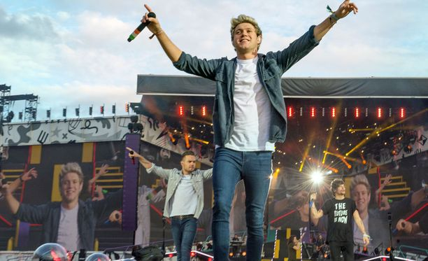 One Direction esiintyi Suomessa viime kesänä.