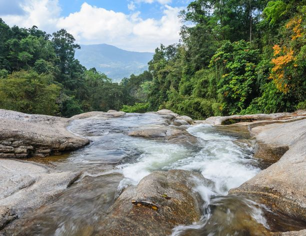 Nakhon Si Thammaratista löytyy hienoja luontokohteita.