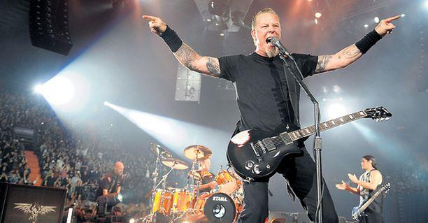 Metallica nähdään tänä kesänä useampaan otteeseen Suomessa.