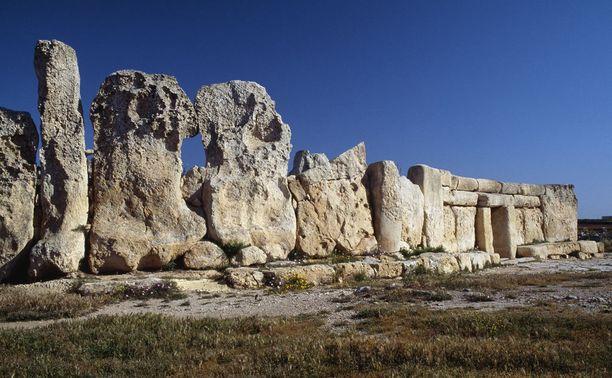 Maltan megaliittiset temppelit ovat peräisin pronssikaudelta.