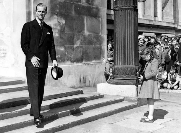 Tältä prinssi Philip näytti vuonna 1952.