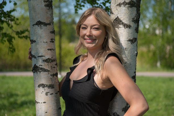 Suomen ensimmäinen Bachelorette Jenny Helenius.