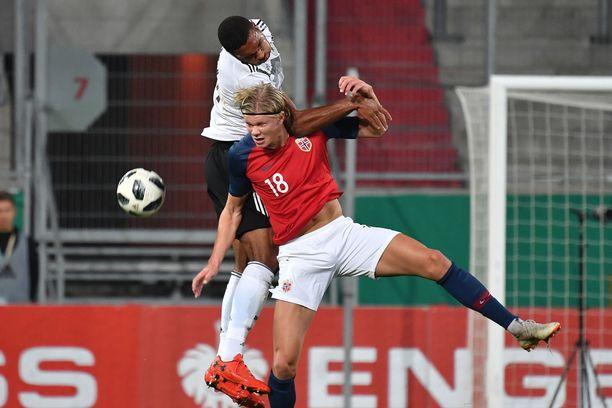 Norja joutuu pelaamaan keskiviikkona ilman tähteään Erling Braut Hålandia.