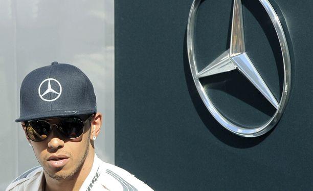 Lewis Hamilton on Mersun mies.