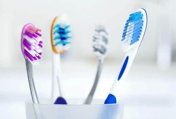 Hampaiden harjauksessa voi käyttää joko tavallista tai sähköhammasharjaa. Sähköhammasharjalla hampaat voivat kuitenkin puhdistua paremmin kuin tavanomaisella harjalla.