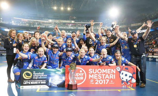 Tampereen Classic on salibandyn naisten Suomen mestari 2017.