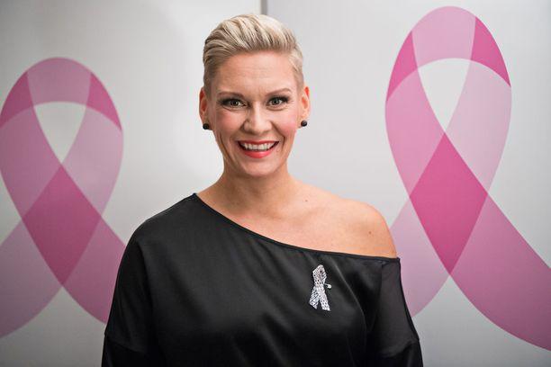 Tänään tiistaina vietettiin Syöpäsäätiön ja Possen yhteistä Roosa nauha -iltaa.