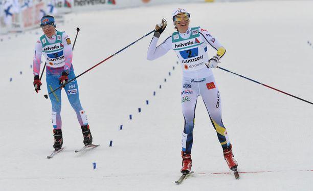 Krista Pärmäkoskea kismitti hopean menetys.