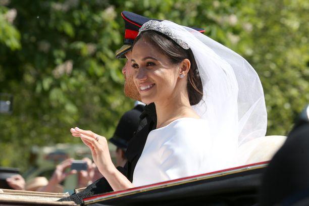 Herttuatar Meghan avioitui toukokuussa prinssi Harryn kanssa. Sisarpuolta ei häissä nähty.