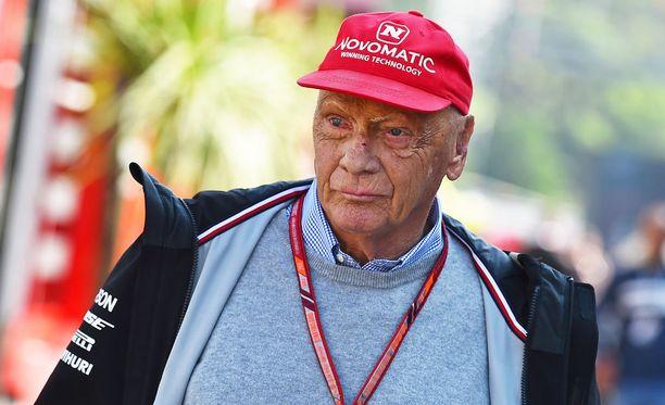 Terveyshuolet piinaavat F1-legenda Niki Laudaa.