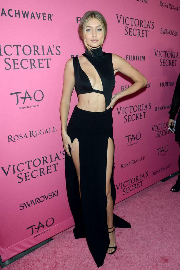 Gigi Hadid on esiintynyt myös Victoria's Secret -merkin mallina.