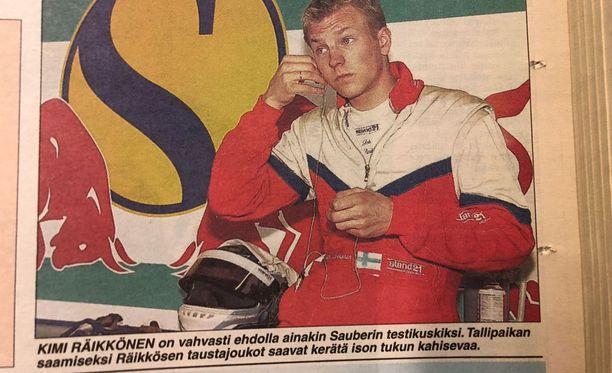 Loppuvuodesta 2000 Kimin mahdollinen ura F1-maailmassa oli tiiviisti spekuloinneissa.